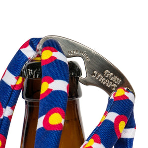 The Colorado Flag Sunglass Straps