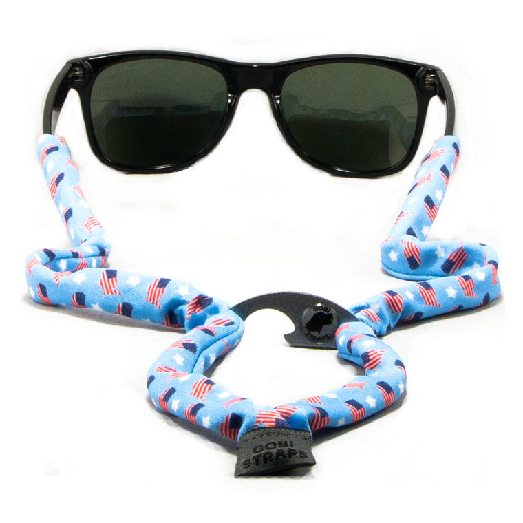 Stars & Flags Sunglass Straps