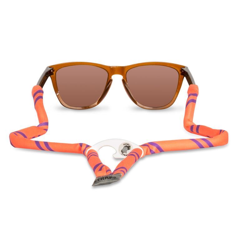 Orange & Purple Sunglass Straps