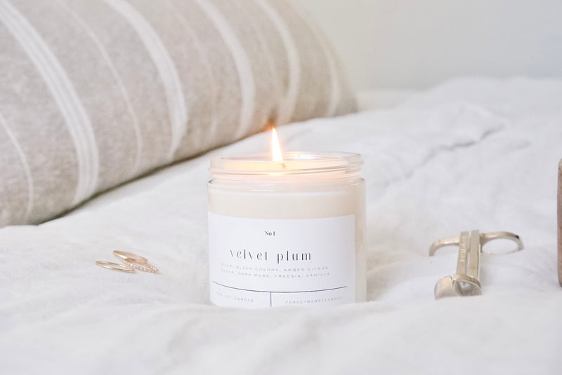 Honey + Clementine Soy Candle