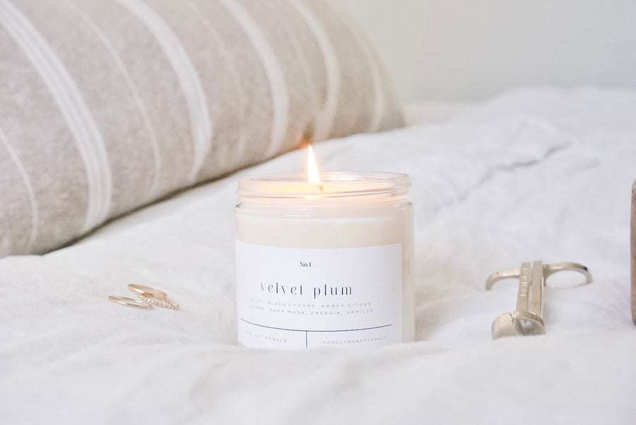 Rosemary + White Sage Soy Candle