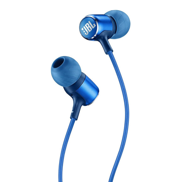 JBL LIVE 100 - Auriculares in-ear con mando a distancia, color azul