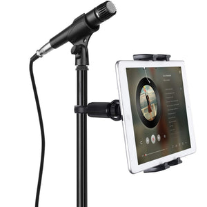 Microphone Music Stand Tablet/Smartphone Holder