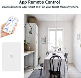Interruptor de pared Smart de Vidrio Templado
