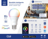 Foco SMART RGB - LED - 10 W - compatibles con Google Home y Alexa