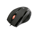 KlipXtreme Optical mouse - Ebony