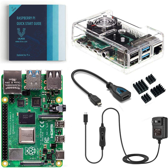 Raspberry Pi 4 Basic Kit