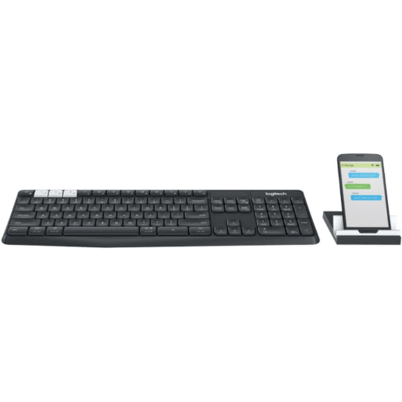 Teclado inalámbrico Logitech K375s Multi-Device - Bluetooth, 2.4 GHz