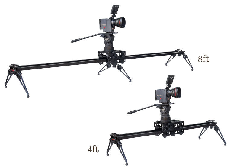 8ft and 4ft RAYO dolly slider