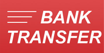 We accept Bank Transfer also