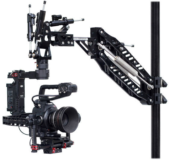 camera stabilizer isolator arm