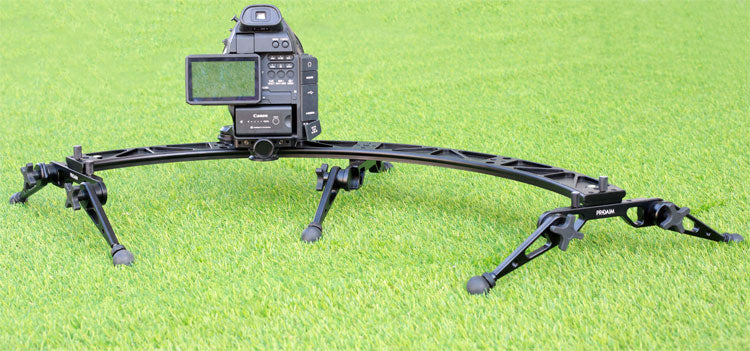 camera slider with electronic controller
