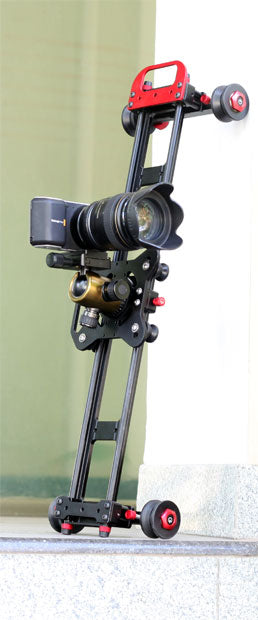 Portable & Lightweight Dolly plus Video Camera Slider