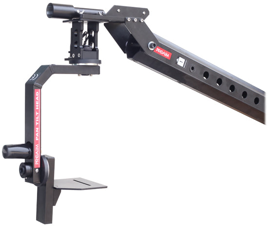 Camera jib motorized head