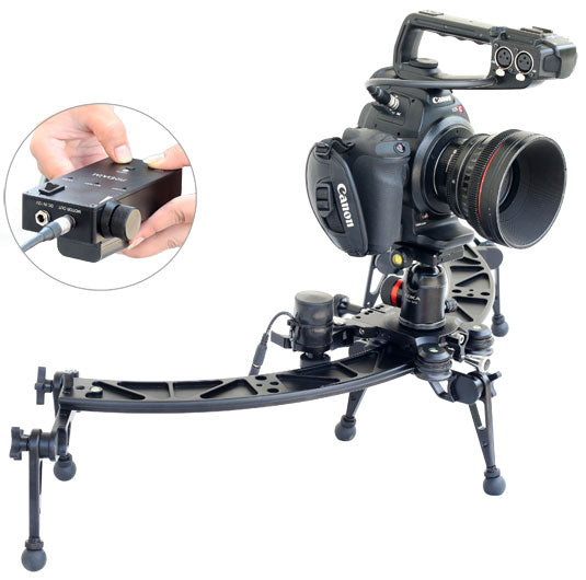 120 Curved Camera Slider with Motion Control System