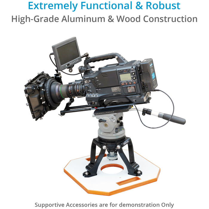 Proaim Heavy-duty 150mm Camera Hi-Hat with Board