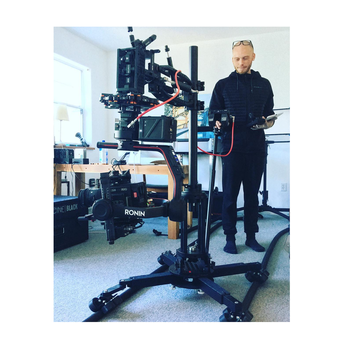Proaim Supreme Professional Camera Dolly System