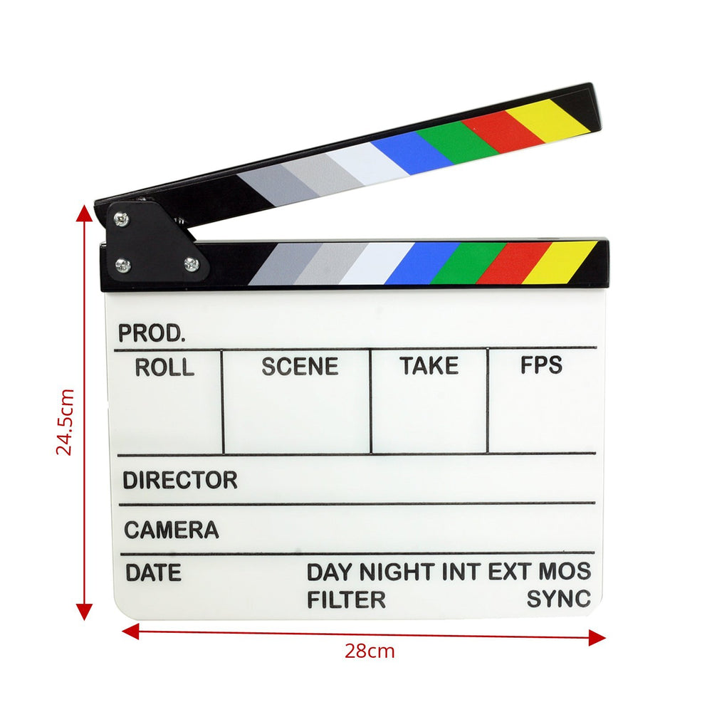 Proaim Original Movie Clapperboard Film Slate (24.5x28 cm)