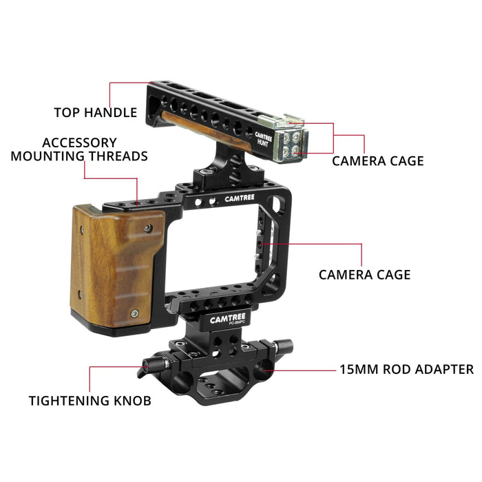 CAMTREE HUNT Professional Camera Cage