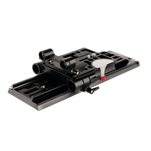 CAMTREE 19-15mm Camera Base Plate with Dovetail Tripod Plate (ARRI Standard)