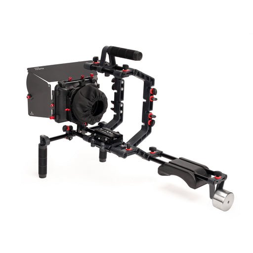 Filmcity FC-02 Shoulder Rig Kit with MB-600 Power Matte Box for DSLR Cameras