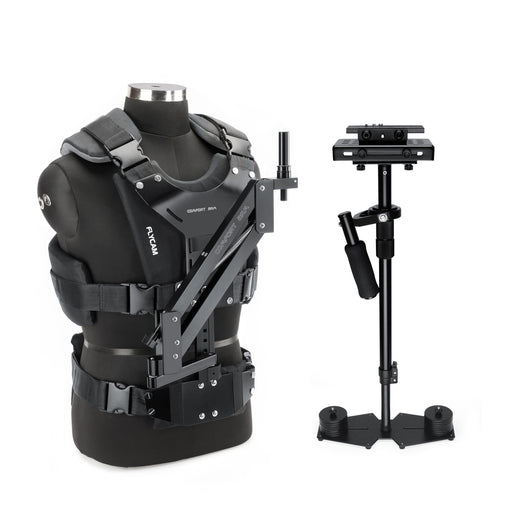 Flycam 10 Handheld Stabilizer with Comfort Arm Vest for Video DSLR Cameras