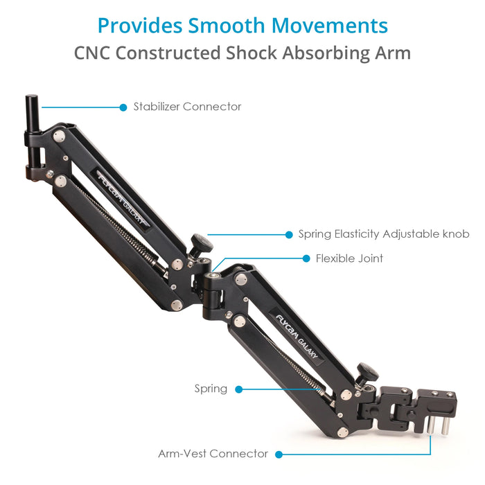 Flycam Galaxy Arm and Vest Camera Stabilizer