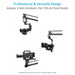 Proaim 14ft Camera Crane Jib, Stand, Jr. Pan-Tilt | Gimbal Compatible
