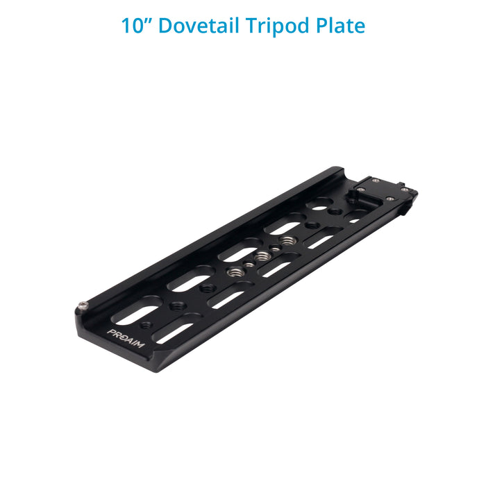 Proaim 15mm Quick Release Camera Base Plate with Dovetail (ARRI Standard)
