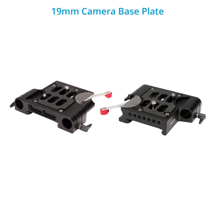 Proaim 19mm Quick Release Camera Base Plate with Dovetail (ARRI Standard)