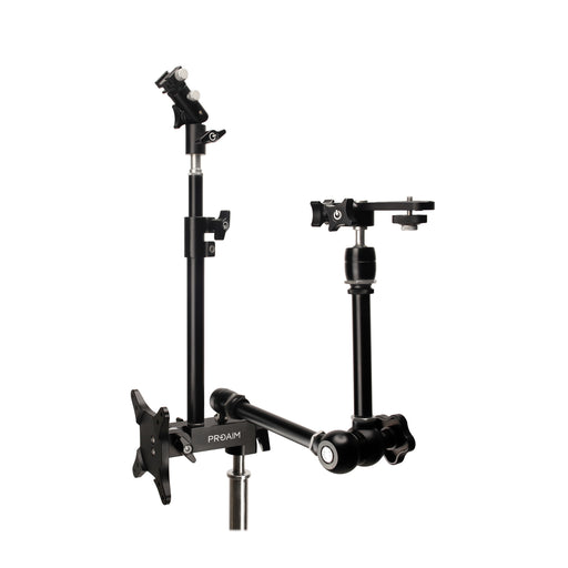 Proaim PhotoBooth Studio Kit - Camera Platform, Mounts for Monitor, Flash & Umbrella