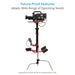 Proaim SuperX Professional Electronic Camera Stabilizer 5-25kg/11-55lb