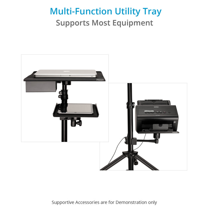 Proaim Utility Tray with Arm & Clamp