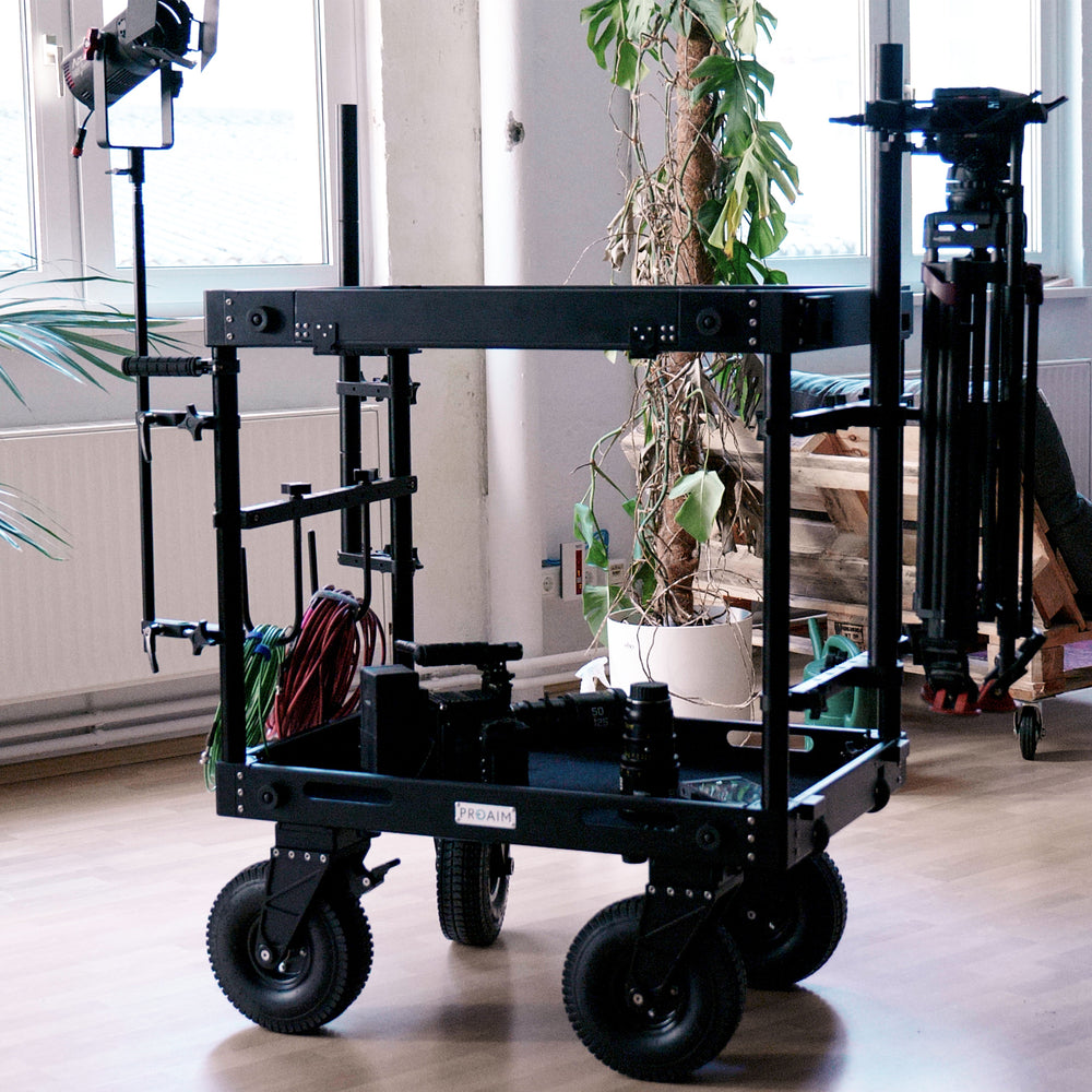 Proaim Dual Tripod Holder For Camera Cart