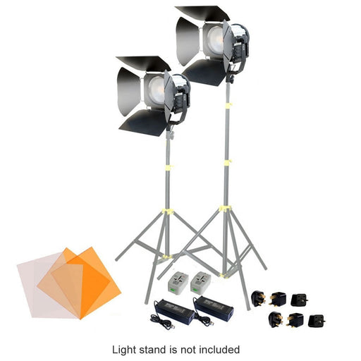 CAMTREE 2pc. SUN 6 LED Fresnel Lights