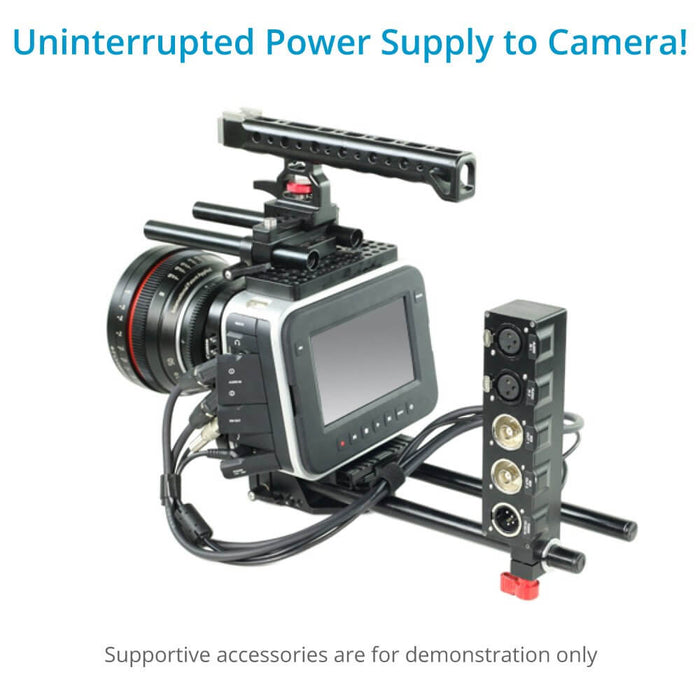 Camtree Hunt BMCC XLR Audio/Video with Power Supply Converter