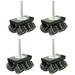 Proaim Big Heavy Duty Dolly Track Wheel Set