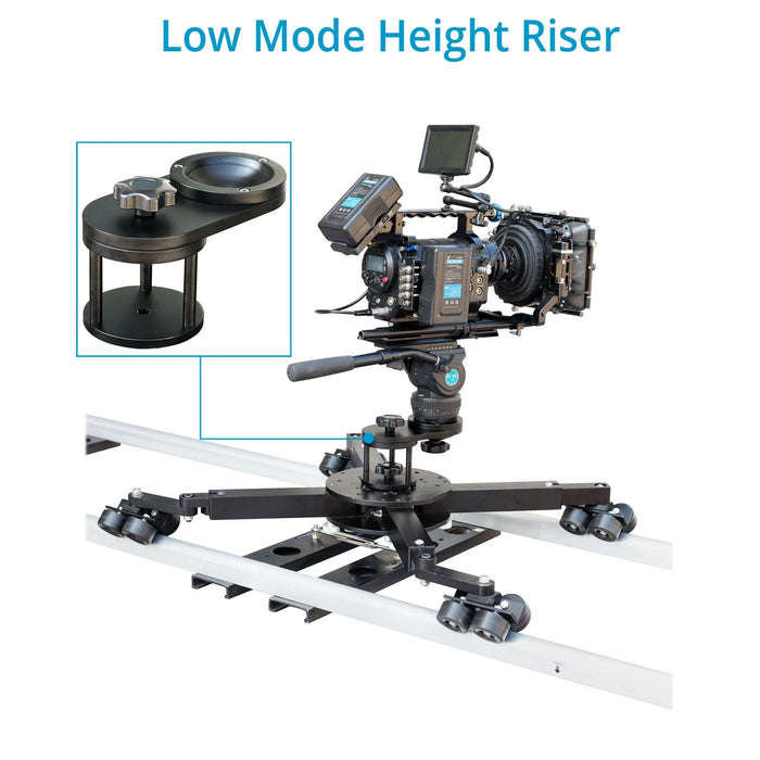 Proaim Low Mode Height Riser (100mm) for Supreme dolly
