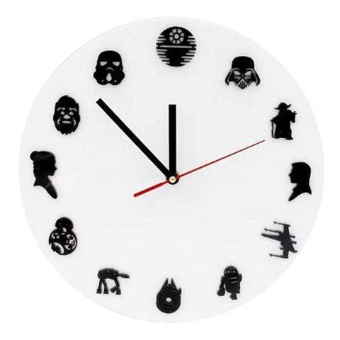 Horloge murale originale star wars