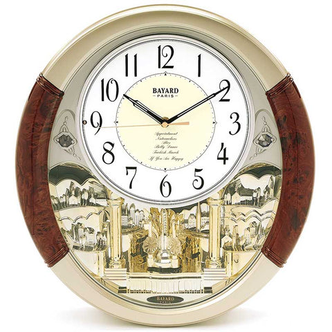 Horloge animée <br> Balancier design