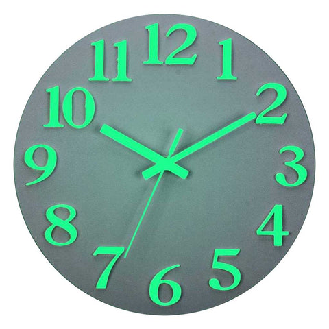 Horloge luminescente simple