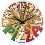 horloge murale originale pizza