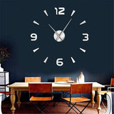 horloge moderne stickers a coller