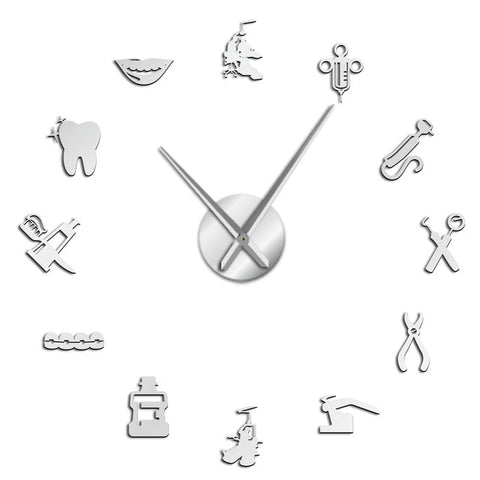 Horloge stickers Cabinet dentaire