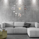 horloge murale stickers photos