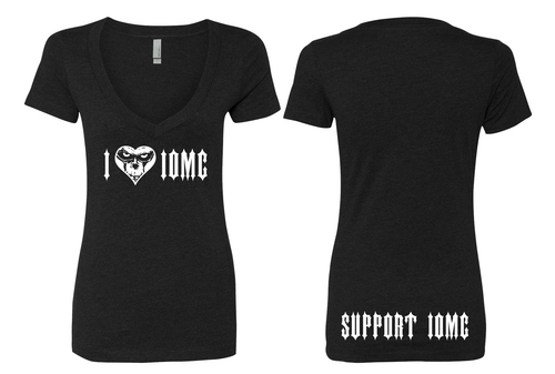 I Love IOMC - VNECK - SUPPORT SHIRT