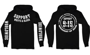Wrought of Iron Support Hoodie - Iron Order MC