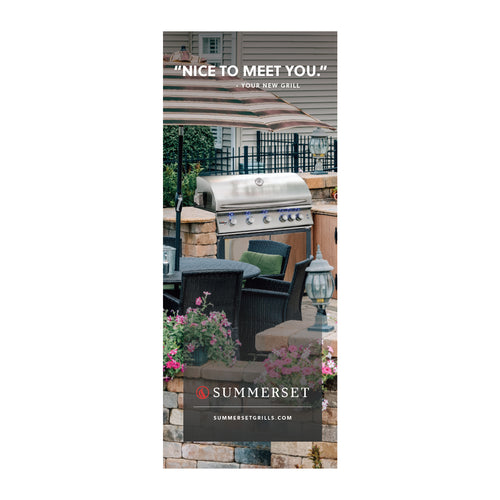 Summerset Pop-up Banner East Coast W/Stand