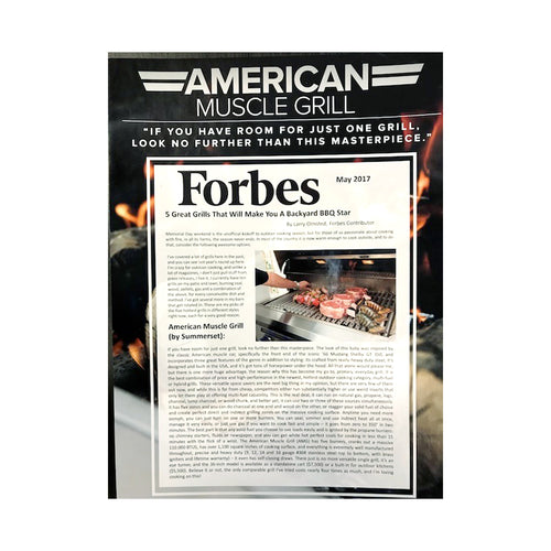American Muscle Grill Forbes Magazine Write Up