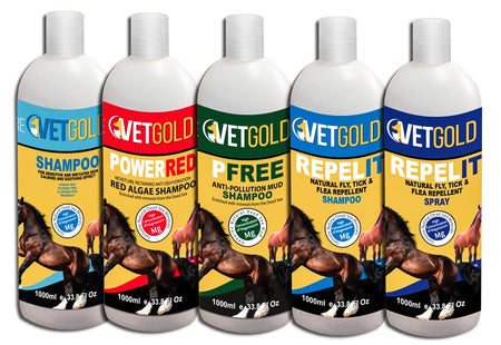 VetGold products for horses - VetGold Shampoo